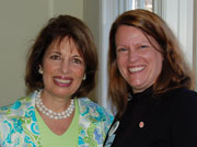 With Jackie Speier